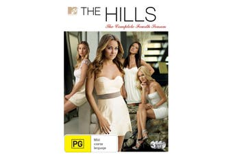 The Hills The Complete Fourth Season 4 Box Set DVD Region 4