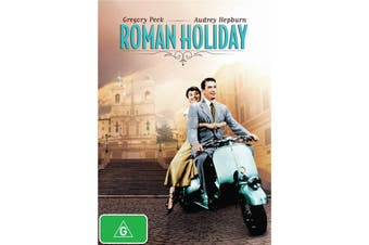 Roman Holiday DVD Region 4