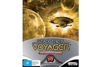 Star Trek Voyager The Complete Collection DVD Region 4