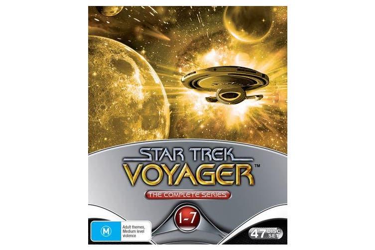 Star Trek Voyager The Complete Collection DVD Region 4