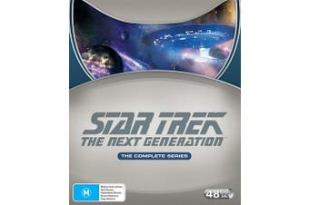 Star Trek the Next Generation The Complete Seasons 1-7 DVD Region 4
