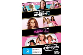 Angus Thongs and Perfect Snogging / Clueless / Mean Girls DVD Region 4