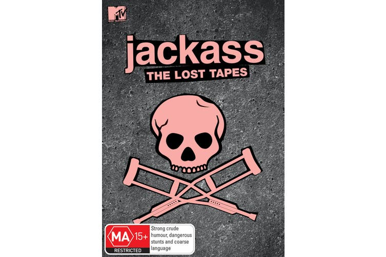 Jackass The Lost Tapes DVD Region 4