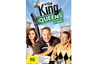 The King of Queens 8th Season DVD Region 4