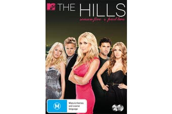 The Hills Season 5 Part Two DVD Region 4