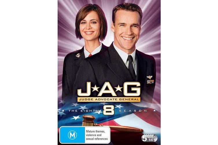 JAG The Complete Eighth Season 8 DVD Region 4