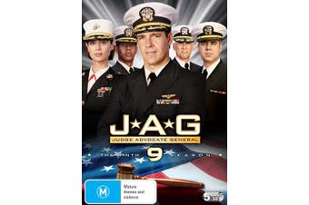 JAG The Complete Ninth Season DVD Region 4