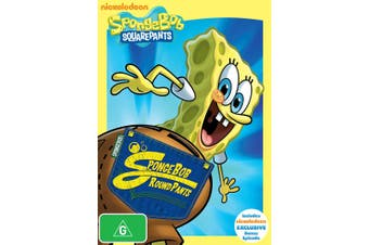 SpongeBob Squarepants SpongeBob Roundpants DVD Region 4