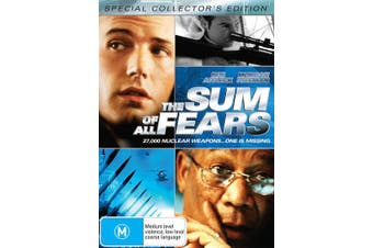 The Sum of All Fears DVD Region 4