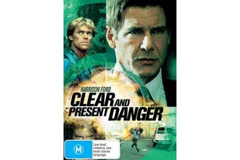 Clear and Present Danger DVD Region 4