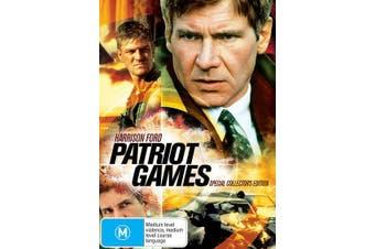 Patriot Games DVD Region 4