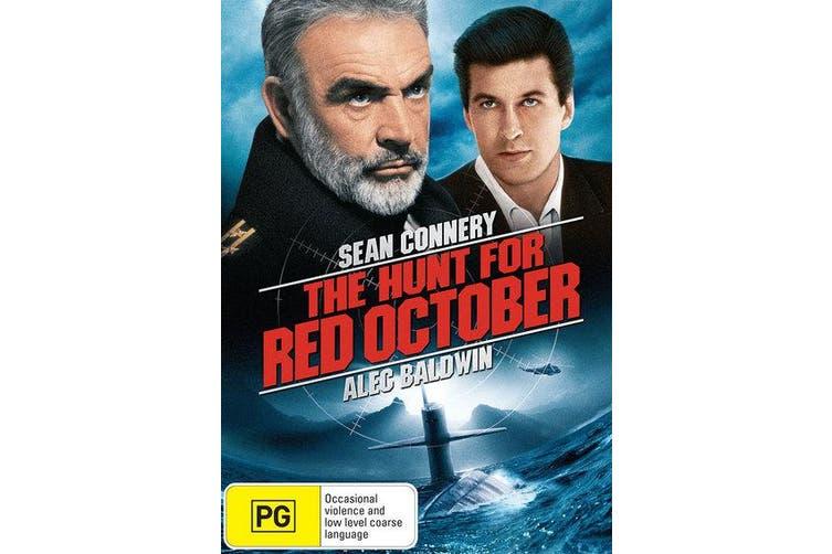 The Hunt for Red October DVD Region 4