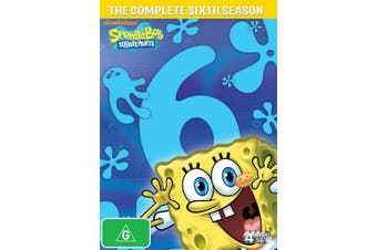 SpongeBob Squarepants Season 6 DVD Region 4