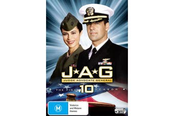 JAG The Complete Tenth Season 10 DVD Region 4