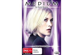 Medium The Sixth Season 6 DVD Region 4