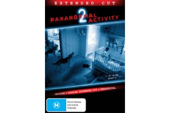 Paranormal Activity 2 DVD Region 4