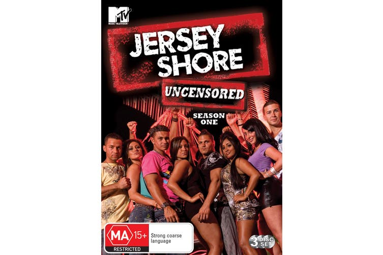 Jersey Shore Season 1 DVD Region 4