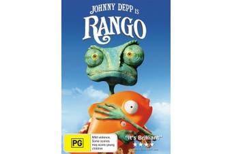 Rango DVD Region 4