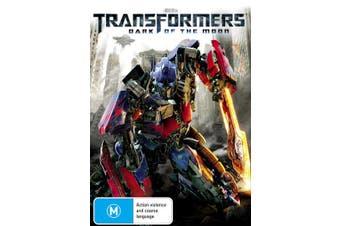 Transformers Dark of the Moon DVD Region 4
