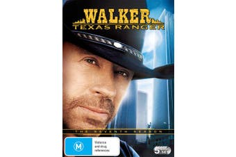 Walker Texas Ranger The Seventh Season 7 DVD Region 4