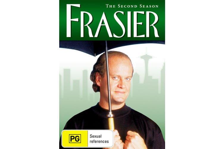 Frasier The Complete Season 2 DVD Region 4