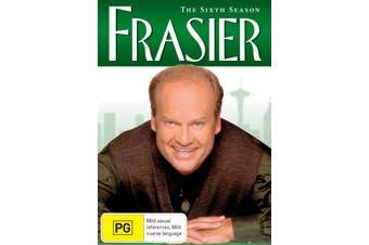 Frasier The Complete Season 6 DVD Region 4