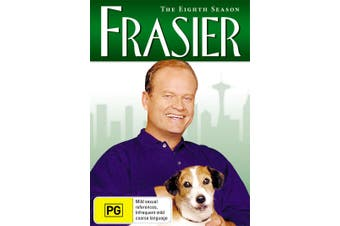 Frasier The Complete Season 8 DVD Region 4