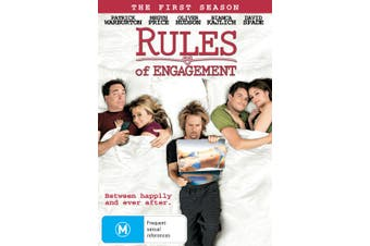Rules of Engagement The First Season 1 DVD Region 4