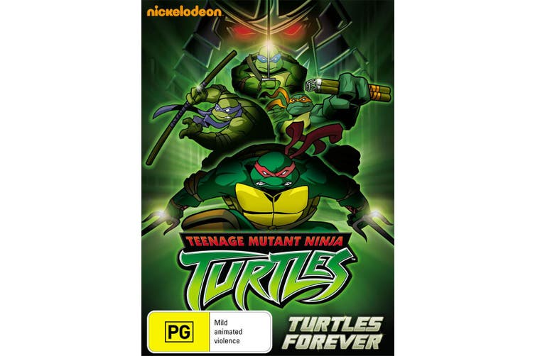 Teenage Mutant Ninja Turtles Turtles Forever DVD Region 4