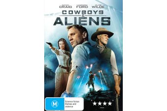 Cowboys and Aliens DVD Region 4