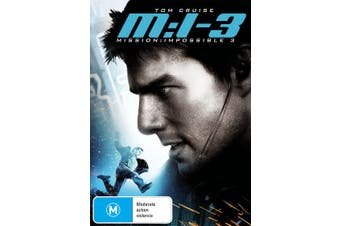 Mission Impossible 3 DVD Region 4