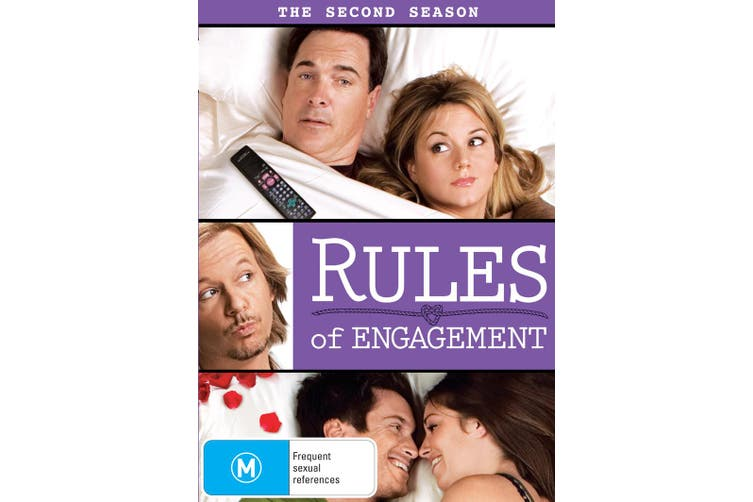 Rules of Engagement The Second Season 2 DVD Region 4