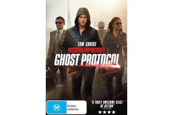 Mission Impossible Ghost Protocol DVD Region 4