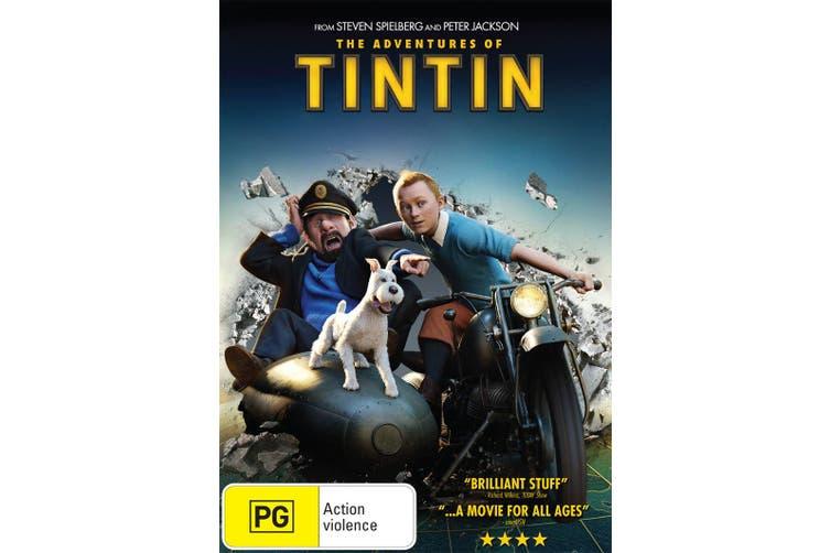 The Adventures of Tintin The Secret of the Unicorn DVD Region 4