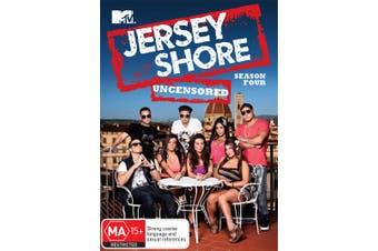Jersey Shore Season 4 DVD Region 4