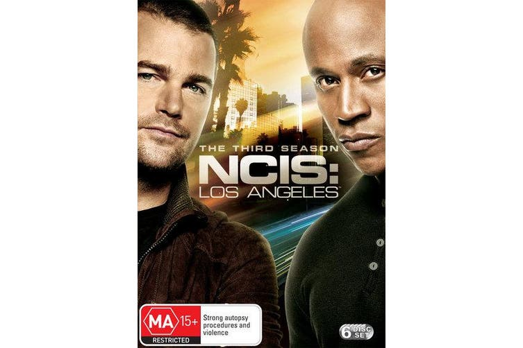 NCIS Los Angeles The Third Season 3 DVD Region 4