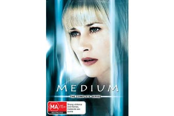 Medium The Complete Series DVD Region 4