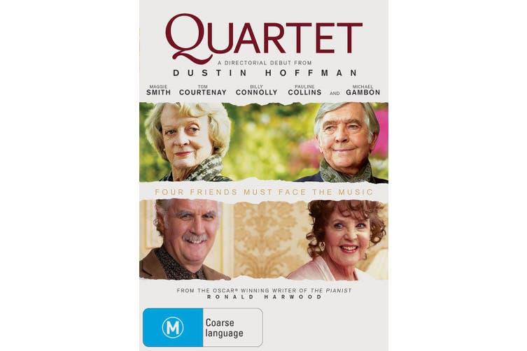 Quartet DVD Region 4