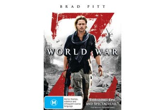 World War Z DVD Region 4