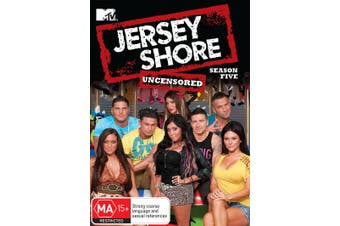 Jersey Shore Season 5 DVD Region 4