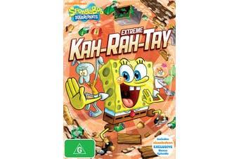 SpongeBob Squarepants Extreme Kah rah tay DVD Region 4