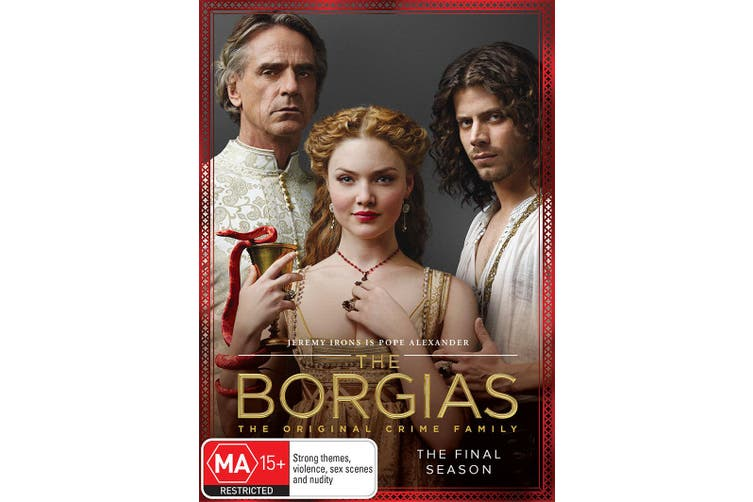 The Borgias Season 3 DVD Region 4