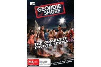 Geordie Shore The Complete Fourth Series 4 DVD Region 4