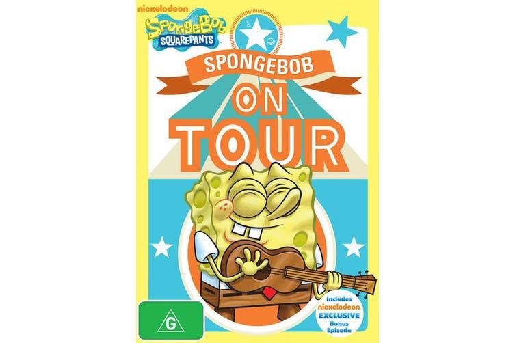SpongeBob Squarepants SpongeBob On Tour DVD Region 4