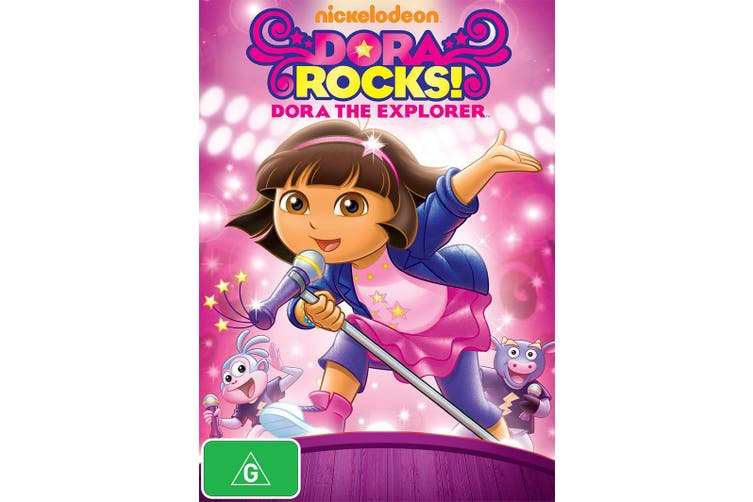 Dora the Explorer Dora Rocks DVD Region 4