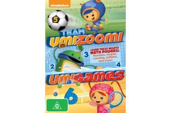 Team Umizoomi Umigames DVD Region 4
