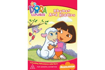 Dora the Explorer Rhymes and Riddles DVD Region 4