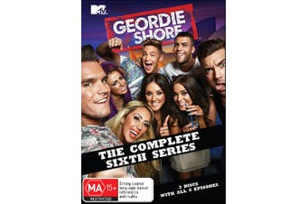 Geordie Shore The Complete Sixth Series 6 DVD Region 4