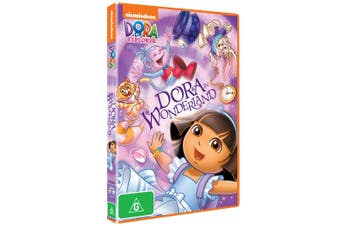Dora the Explorer Dora in Wonderland DVD Region 4