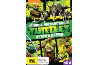 Teenage Mutant Ninja Turtles Mutagen Mayhem Season 2 Volume 1 DVD Region 4